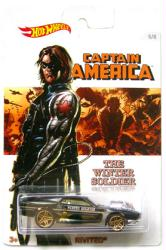 Hot Wheels: Captain America Winter Soldier Rivited diecast vehicle