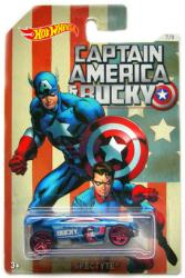 Hot Wheels: Captain America & Bucky Spectyte diecast vehicle (Mattel)