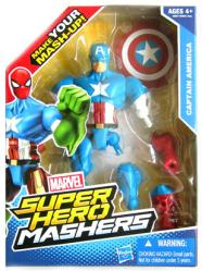 Marvel Super Hero Mashers: Captain America action figure (Hasbro/2013)