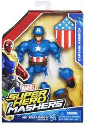 Marvel Super Hero Mashers: Captain America action figure (Hasbro/2015)