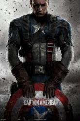 Captain America: The First Avenger movie poster [Chris Evans] 24x36
