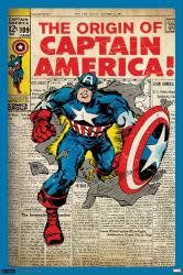 Captain America poster: Marvel Comics Issue #109 cover (24x36)