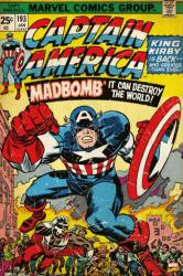 Captain America poster: Comic Book Cover Issue 193 (24 X 36) Marvel