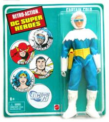 Retro Action DC Super Heroes: Captain Cold action figure (Mattel)