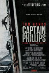 Captain Phillips movie poster [a Paul Greengrass film] original 27x40