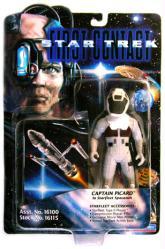 Star Trek First Contact: Captain Picard in Starfleet Spacesuit figure