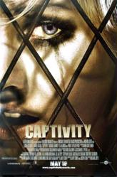 Captivity movie poster [Elisha Cuthbert] original 27x40 one-sheet