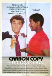 Carbon Copy movie poster [George Segal & Denzel Washington] original