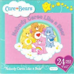 Care Bears 24 piece jigsaw puzzle (2013) Nobody Cares Like a Bear