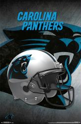 Carolina Panthers poster: Helmet (NFL) 22x34