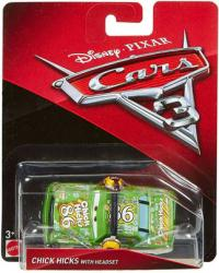 Cars 3: Chick Hicks with Headset 1:55 die-cast vehicle (Mattel/2016)