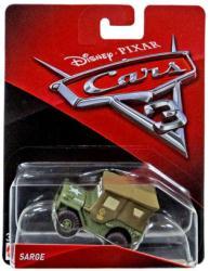 Cars 3: Sarge 1:55 die-cast vehicle (Mattel/2016)