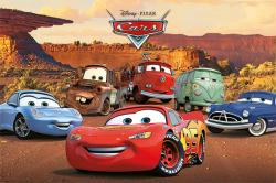 Cars movie poster: Characters (36x24) Disney/Pixar 2006