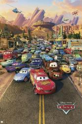 Cars movie poster [2006 Disney/Pixar animated film] 24x36