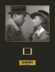 Casablanca 8.5 X 11 Senitype film cell /Humphrey Bogart/Ingrid Bergman