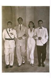 Casablanca poster: Cast [Rains/Henreid/Ingrid Bergman/Humphrey Bogart]