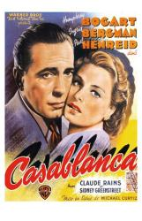 Casablanca movie poster [Humphrey Bogart & Ingrid Bergman] 11 X 17