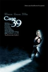 Case 39 movie poster [Renee Zellweger] original 2010 one-sheet