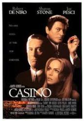 Casino movie poster [Robert DeNiro/Joe Pesci] (Scorsese) 11'' X 17''