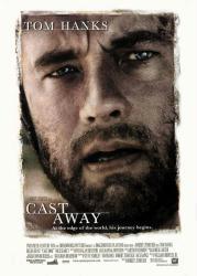 Cast Away movie poster [Tom Hanks] original 27x40 one-sheet