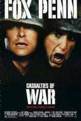 Casualties of War movie poster [Michael J. Fox, Sean Penn] 27x40