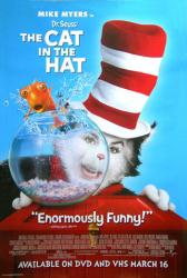 The Cat In the Hat movie poster [Mike Myers] 27x40 video version