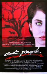 Cat People movie poster [Nastassja Kinski] 27x41 original 1982