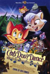Cats Don't Dance movie poster (1997 animated film) 27x40