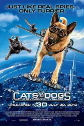 Cats & Dogs: The Revenge of Kitty Galore movie poster (one-sheet)