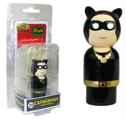 Batman Classic TV series: Catwoman Pin Mate #28 wooden figure