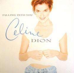 Celine Dion poster: Falling Into You vintage LP/Album flat