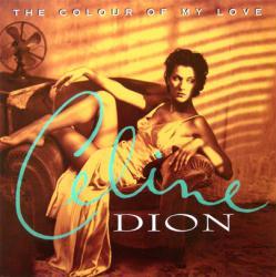 Celine Dion poster: The Colour of My Love vintage LP/Album flat