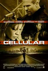 Cellular movie poster [Kim Basinger, Jason Statham, Chris Evans] 27x40