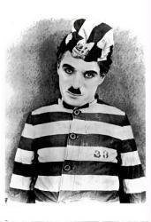 Charlie Chaplin poster (26x37) The Adventurer