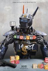 Chappie movie poster (2015) original 27x40 advance