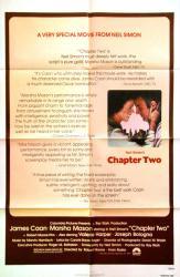 Chapter Two movie poster [James Caan, Marsha Mason] 27x41 original