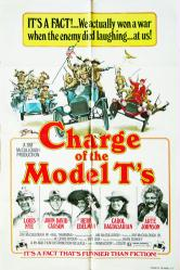 Charge of the Model T's movie poster (1977) original 27x41