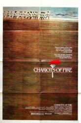Chariots of Fire movie poster (1981) 27x41 original