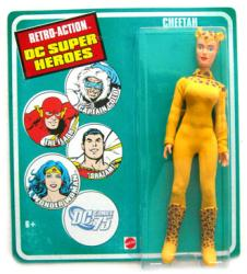 Retro Action DC Super Heroes: Cheetah action figure (Mattel)
