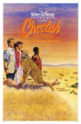 Cheetah movie poster (1989) [Keith Coogan] original 27x41 Disney