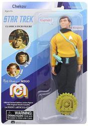 Star Trek: Chekov classic 8 inch action figure (MEGO/2018)