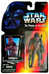 Star Wars [Power of the Force] Chewbacca action figure (Kenner/1995)