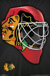 Chicago Blackhawks poster: Mask (NHL) 22x34