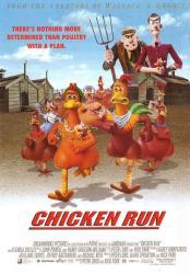Chicken Run movie poster (2000) original 27x40 NM