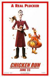 Chicken Run movie poster (27x40 advance) A Real Plucker