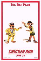 Chicken Run movie poster (27x40 advance) The Rat Pack
