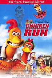 Chicken Run movie poster (2000) 27x40 video version