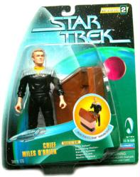 Star Trek Warp Factor 2: Chief Miles O'Brien action figure (Playmates)