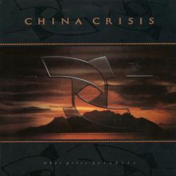 China Crisis poster: What Price Paradise vintage LP/Album flat