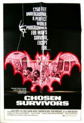 Chosen Survivors movie poster [Jackie Cooper] 1974 original